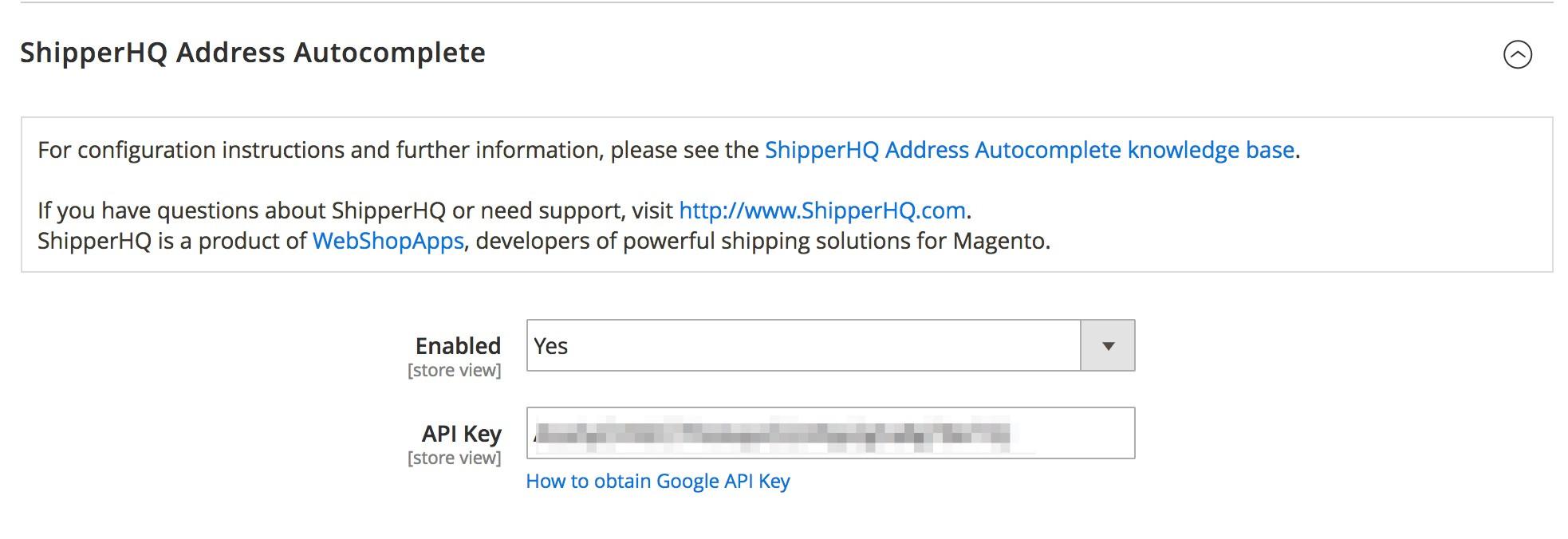 Address Auto-Complete Admin Configuration Part 1