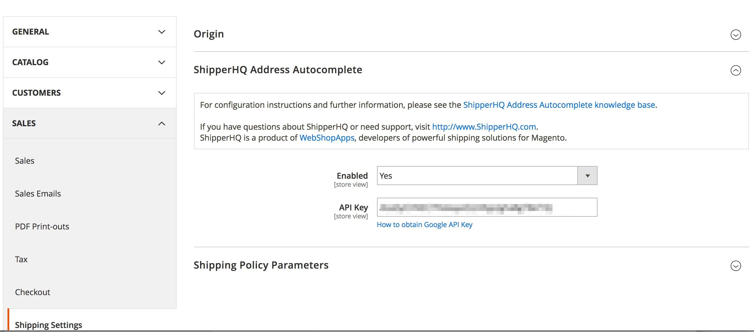Address Auto-Complete Admin Configuration Part 2