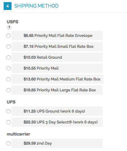 Magento 1 Checkout USPS w/ multi-carrier