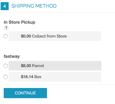 Magento 1 - Fastway Courier