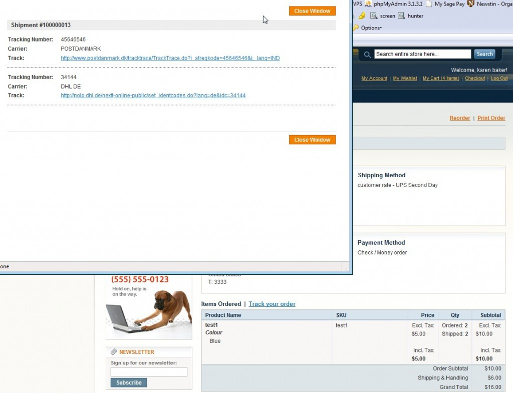 Shipping Tracker extension for Magento - WebshopApps
